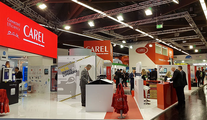 CAREL at Chillventa: connectivity, user experience and natural refrigerants